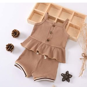 Baby Girl Tank and Shorts Outfit